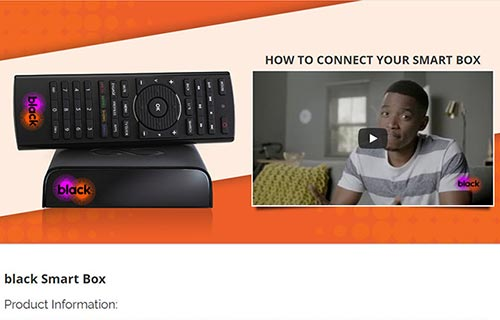 Cell C black Smart Box