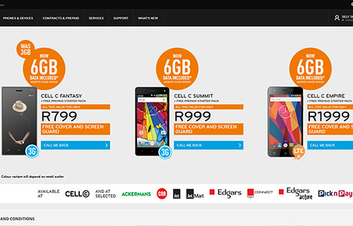 Cell C Edcon Deals