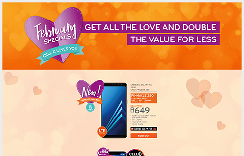 Cell C February Specials