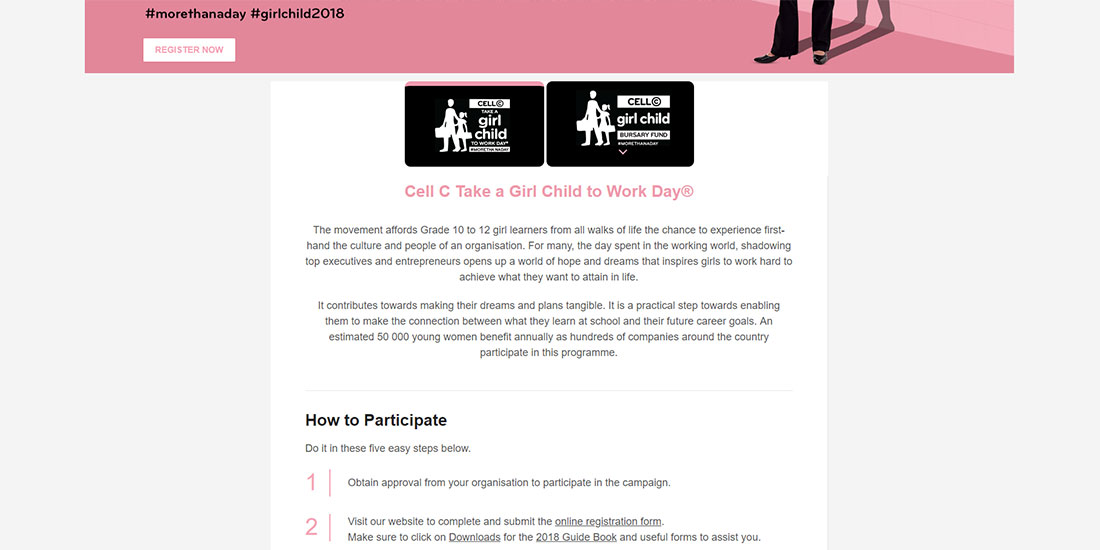 Cell C Girl Child | Image 981