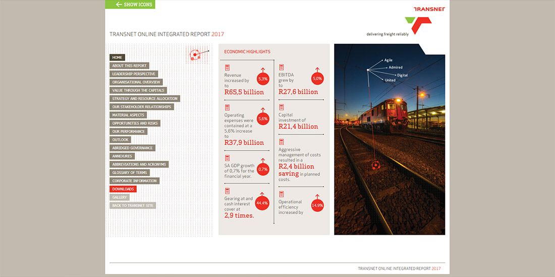 Transnet Online Integrated Report 2017 | Image 1032