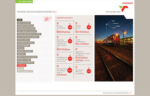 Transnet Online Integrated Report 2017