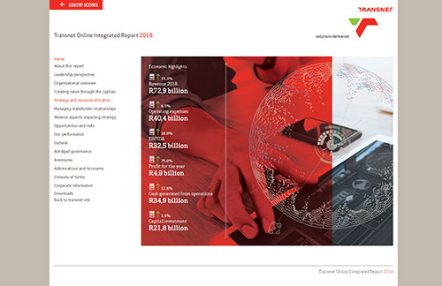 Transnet Online Integrated Report 2018