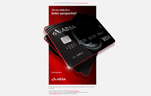 Absa Mailers - Set 1