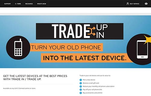 Cell C - Trade in/up